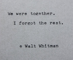 quotes, forget, and together image