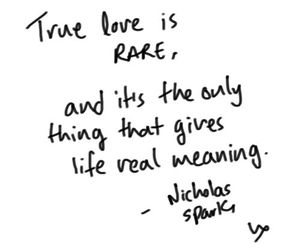 quote, love, and true love image
