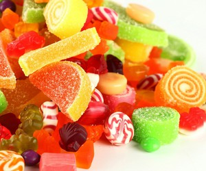 colors, food, and sweet image