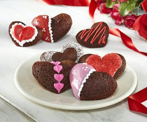 Cookies, food, and rose image