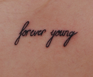 Forever Young and tattoo image
