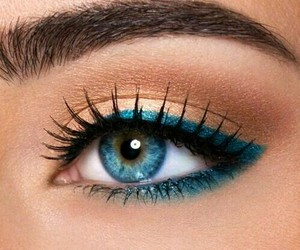 eyebrow, pretty eyes, and perfect makeup image