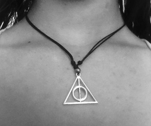 deathly hallows, grunge, and harry potter image