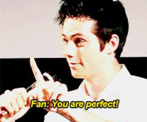 fans, dylan o'brien, and love image