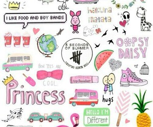 wallpaper, princess, and pink image