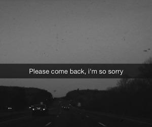 sorry, sad, and grunge image