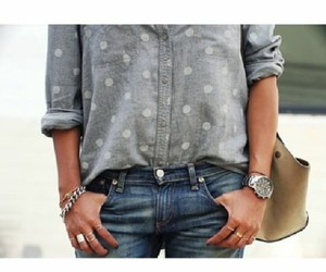accessories, girly, and shirt image