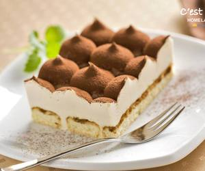 food, tiramisu, and dessert image