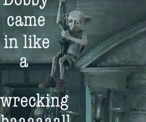 dobby, harry potter, and wrecking ball image