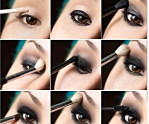 eyeliner and eyes image