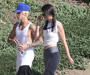 justin bieber and kendall jenner image