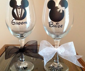bride, wedding, and groom image