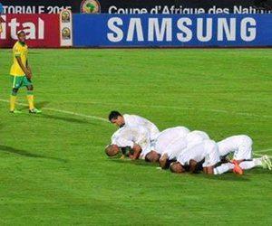 Algeria, football, and islam image