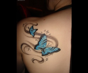 back, butterfly, and shoulder image