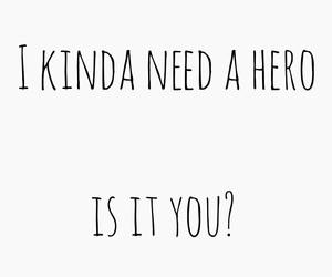 demi, hero, and need image