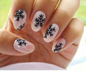 cool, pink, and nails image