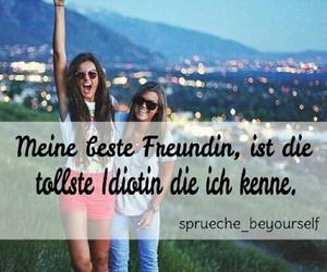 best friends, deutsch, and crazy image