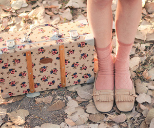 shoes, vintage, and floral image
