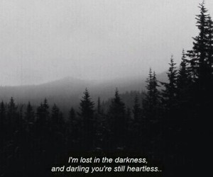heartless, Darkness, and lost image