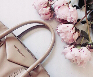 Givenchy, fashion, and flowers image