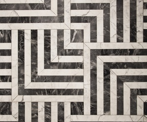 black, black and white, and floor image