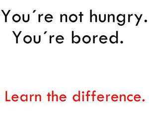 hungry, bored, and text image