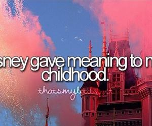 disney, childhood, and pink image