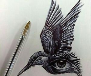 art, beautiful, and bird image