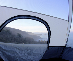 nature, tent, and travel image