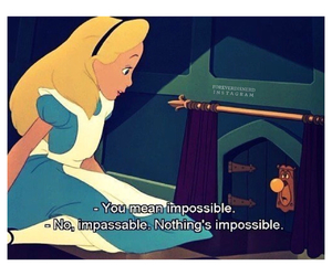 alice and quote image