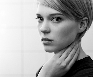 b&w and Lea Seydoux image