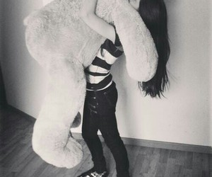 love, bear, and boyfriend image