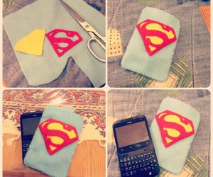diy, superman, and case image