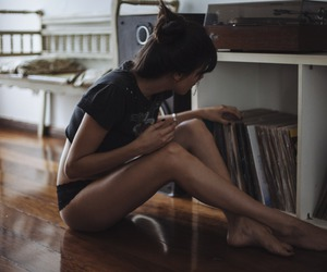 music, vintage, and naked image