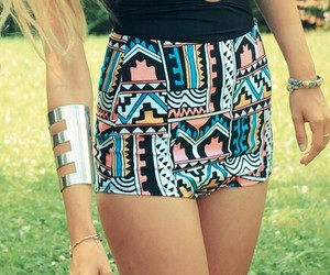 fashion, shorts, and summer image