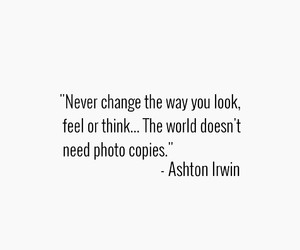 quote, ashton irwin, and 5sos image