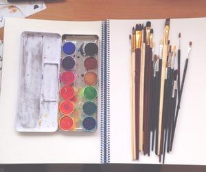 art, boho, and drawing image