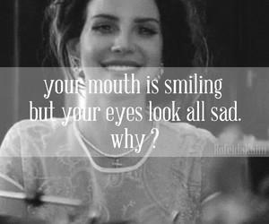 sad, eyes, and happy image