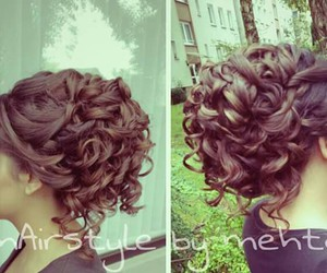 black, diy, and hairstyles image