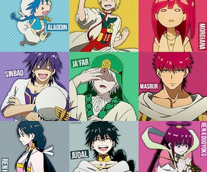 anime, magi, and aladdin image
