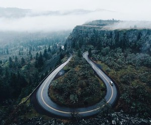 nature, road, and travel image