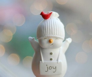 adorable, cute, and snowman image
