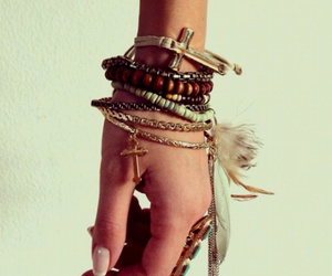 hipster, friendship bracelets, and bracelet image