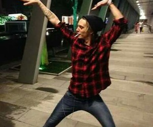 Jamie Campbell Bower, jamie, and funny image