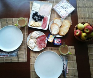 breakfast, Late, and friends image