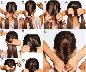 cabelo, hair, and trança image