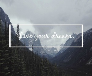 clouds, Dream, and quote image