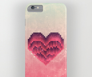 case, fashion, and heart image
