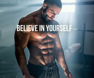 believe, fit, and sixpacks image