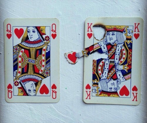 cards, king, and photography image
